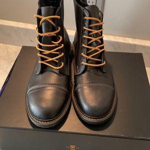 BRAND NEW Men's Allen Edmonds Normandy Black Boots